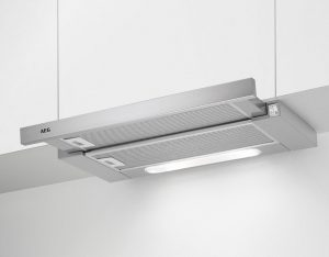 Telescopic adjustable kitchen cooker hood