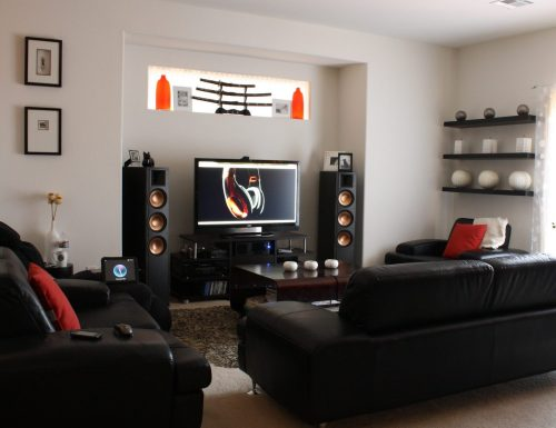 Home Cinema System in your living room