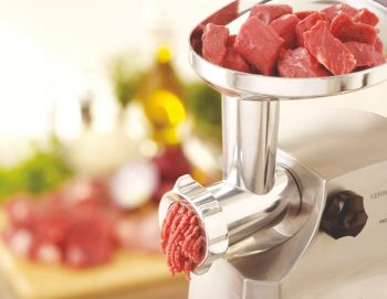 Electric meat grinder cutting dimensions
