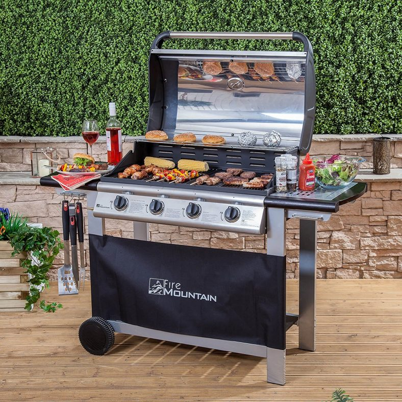 The best gas burner grill barbeque