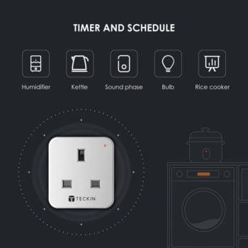 Smart plug outlet control features