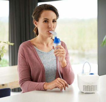 High capacity easy to use nebuliser